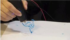 3Doodler un bolígrafo que pinta en 3D