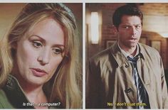 Mary and Cas - Supernatural 12x01