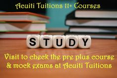 Prepare for CEM & NFER / GL with Acuiti Tuitions Check the course details today >> http://www.acuitituitions.co.uk/courses/