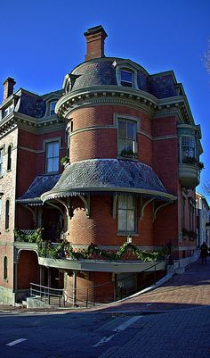 Benefit Street in Providence, Rhode Island