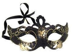 RedSkyTrader - Gold and Black Venetian Style Party Mask - Masquerade - One Size fits Most - Gold RedSkyTrader,http://www.amazon.com/dp/B009980U9A/ref=cm_sw_r_pi_dp_uaOorb1A5YZEYSSY