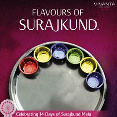 #Day4 One plate, many stories!  Unfold the history of Surajkund with the special Surajkund Thali at Paranda, Vivanta by Taj.  Know more: http://on.fb.me/1ztW38e