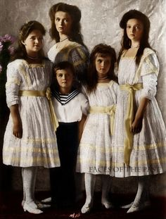 Grand Duchess Maria Nikolaievna Romanov, Tsarevich Alexei Nikolaevich Romanov…