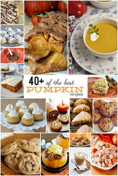40+ of the best pumpkin recipes. Recipes for every meal of the day!