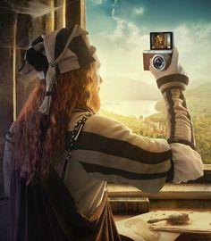 Pinzellades al món: Selfie de pintors / Selfie de pintores / Selfie of painters