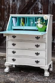 Image result for painted roll top bureau