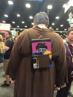 This Hodor costume from Comic-Con has Game of Thrones fans saying Hodor (in a good way). | geek stuff | Someecards