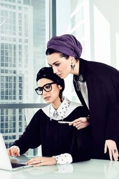 """They look lovely. """"Turban Hijab 2017 Fashion Look For Modest Ladies – Girls Hijab Style & Hijab Fashion Ideas"""" Turban Hijab, Turban Mode, Muslim Fashion, Modest Fashion, Hijab Fashion, Fashion Outfits, Modest Dresses, Modest Outfits, Look Fashion"""