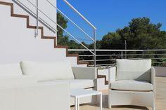Casa de l'Estudi d'Arquitectura Cobo del Arco. Terraza y escalera al solárium-mirador.