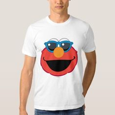 (Elmo  Smiling Face with Sunglasses Shirt) #Cute #Elmo #Emoji #EmojiIcons #Fun #Icons #MobileIcon #SesameStreet is available on Famous Characters Store   http://ift.tt/2bjB8hz