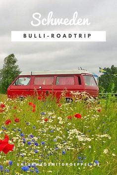 17 days on the road with the Bulli – our trip to Sweden in numbers - Van Life Road Trip Europe, Road Trip Packing, Road Trip Essentials, Road Trip Hacks, Road Trip Usa, Sweden Holidays, New Zealand Tours, Sweden Travel, Reisen In Europa