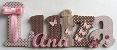 Nome+decorado+em+MDF+e+Scrap+personalizado+para+decoração+de+quarto,+porta+maternidade,+festas...+Tema+e+cores+a+sua+escolha R$ 92,00