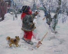 Сальникова Елена. Зима .