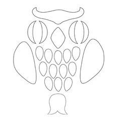flying owl silhouette simple owl stencil flying owl outline
