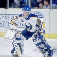 Dominick Hasek ever Hockey Goalie, Ice Hockey, Hockey Season, Buffalo Sabres, Toronto Maple Leafs, Old School, Hockey Stuff, Classic, Sports