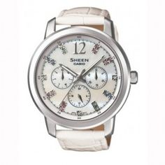 37cd1d8e9 Buy Casio Ladies Watch: SHE-3802L-7ADR in India online. Free Shipping in  India. Latest Casio Ladies Watch: SHE-3802L-7ADR at best prices in India.