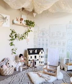Playroom inspo to kick start the week by @misskyreeloves . What a gorgeous space featuring the stunning Fee Fee print.  Our @sailah_lane prints have been very popular lately (I even kept one for my little Liv). Search prints in our store.   .  .  .  .  #kidsplayroom #playroominspo #playroomideas #girlsdecor #childrensdecor #kidsplayroomideas #kidswalldecor #kidswallprints #childrenswallart #childrenswalldecor #nurserydecor #onlinestore #afterpaystore #kidsboutique