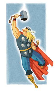 The Mighty Thor by mgelen.deviantart.com on @deviantART