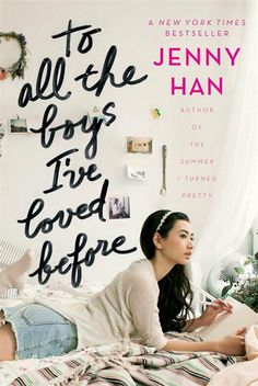 """to all the boys I've ever loved before. Writes letters to these boys and doesn't hold back anything. They are never ever meant to be seen by anyone and she uses them as an """"exorcism"""" of her love so that she doesn't get heartbroken. Great read for young adults."""