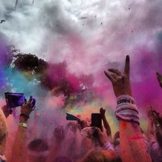 Color Run--August 24, 2013!!! (Medford, Oregon)! PR achieved!!! -JRR