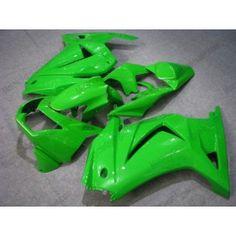 Kawasaki NINJA EX250 2007-2009 Injection ABS Fairing - Factory Style - All Green | $659.00