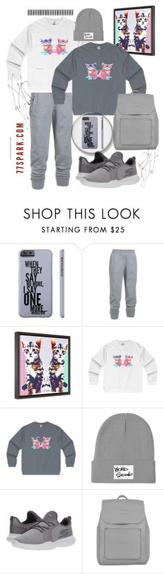 """""""27.10.17"""" by transtetik ❤ liked on Polyvore featuring Under Armour, Skechers, Accessorize, men's fashion and menswear"""