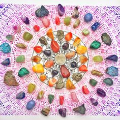 Crystal Grid, Learn how to make your own crystal grid layouts with healing stones and crystals. Discover the power of crystal grids with Energy Muse.