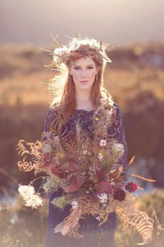 Wild Scotland - a bridal editorial shoot by Craig and Eva Sanders. Trendy Wedding, Boho Wedding, Floral Wedding, Wedding Blog, Fall Wedding, Rustic Wedding, Wedding Flowers, Wedding Ideas, Autumn Weddings