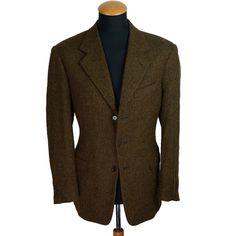Pal Zileri Men's Cashmere Blazer 40R (50 DE). Cloth: 70% cashmere 30% silk by Ermenegildo Zegna. Single breasted 3 buttons Blazer, double vented. | eBay!