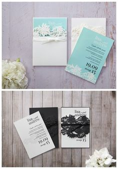 Create Unforgettable Wedding Invitations with Laser Cutting   mnbride.com