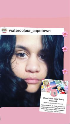 Hello, its me Nabeelah. Founder of Watercolour Cape Town