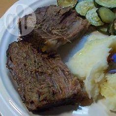 Recipe Photo: Roast beef au jus Slow Cooker