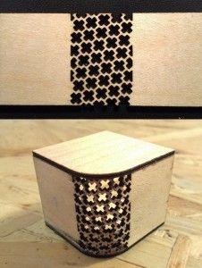 kerf bending patterns