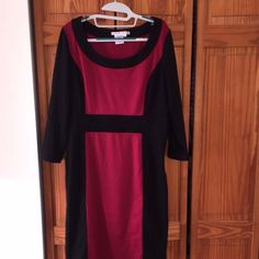 Black And Red Maggie London Dress