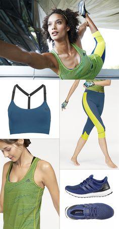 Future Workout: Die Outfit-Kombi von Adidas kommt absolut futuristisch, innovativ und megastylisch daher! Das Beste: Darin siehst du nicht nur top aus, sondern profitierst außerdem von modernsten Materialien, die beim Training angenehm klimaregulierend wirken.