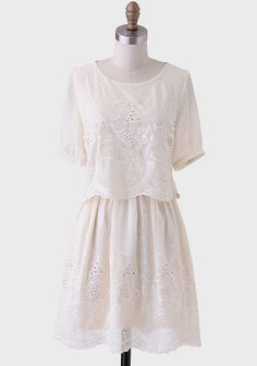 The Jazz Age Eyelet Dress at #Ruche @Ruche