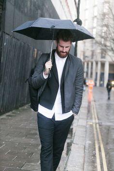 53 best men s umbrella fashion images on pinterest mens umbrella