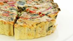 Asparagus Quiche with Tomatoes and Tarragon