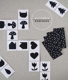 dominos d'imatges, de lletres, números...