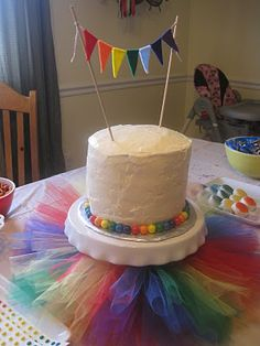 Rainbow Party--someday I want to have a rainbow party; just for the heck of it.