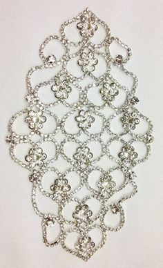 1334 Rhinestone Lace (click for prices)