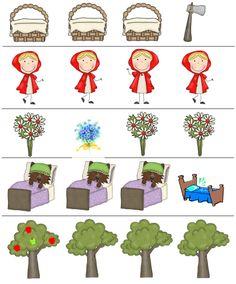 Story Maps, Red Riding Hood, Nursery Rhymes, Homeschooling, Fairy Tales, Preschool, Education, Kids, Traditional Tales