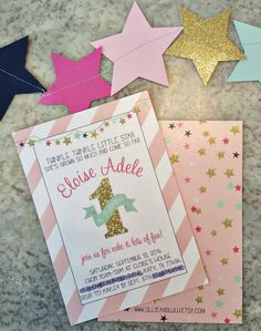 Scott & Kayley: Eloise's Twinkle Twinkle Little Star 1st Birthday Party
