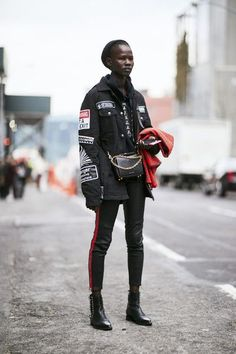 Attendees at New York Fashion Week Fall 2018 - Street Fashion #newyorkfashion,