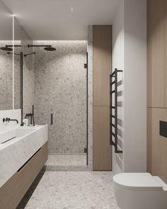 bathroom Bathroom Design Small, Bathroom Interior Design, Modern Bathroom, Home Room Design, House Design, Minimalist Small Bathrooms, Master Bath Vanity, Orange Home Decor, Bathroom Design Inspiration