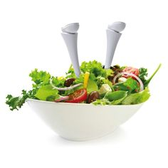 Dive into a salad! We all love to dive into our favourite salad but our Legs Salad Spoons literally do jump in...