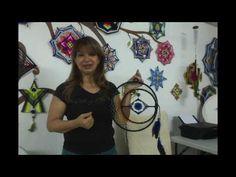 OJO DE AGUILA - Mandala o Atrapasueños - YouTube
