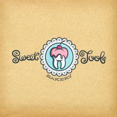 Sweet Toof - option02   Logo Design Gallery Inspiration   LogoMix