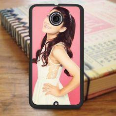 Ariana Grande Awesome Pink Smile Nexus 6 Case