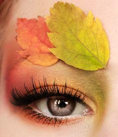 12 Fall Eye Makeup Styles, Looks & Ideas For Girls & Women 2015 - Bilden Ideen Makeup Geek, Makeup Art, Male Makeup, Beauty Makeup, Sexy Make-up, Mother Nature Costume, Fall Eye Makeup, Yellow Eyeshadow, Gloss Eyeshadow